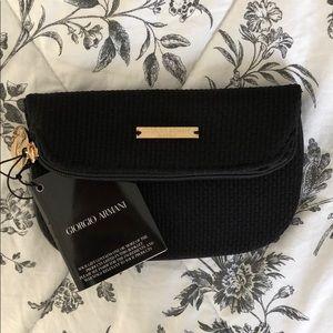 Giorgio Armani cosmetics bag